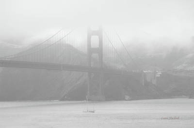 Photograph - Misty Bridge by Donna Blackhall