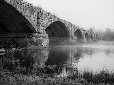 Photograph - Misty Bridge by Kendall McKernon