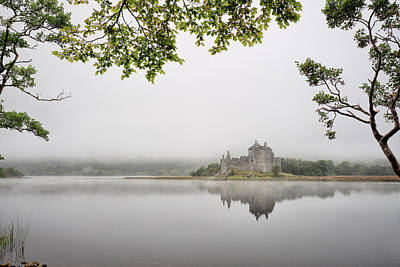 Photograph - Misty Castle by Grant Glendinning