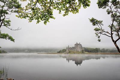 Photograph - Misty Castle by Grant Glendinning