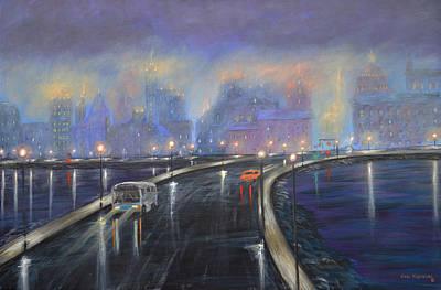 Misty City Original by Ken Figurski