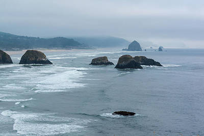 Photograph - Misty Coastline by Robert McKay Jones