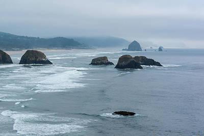 Photograph - Misty Coastline by Robert McKay Jones