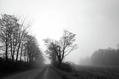 Photograph - Misty Country Morning by Brooke T Ryan