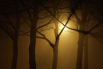 Photograph - Misty Cross by Erik Tanghe