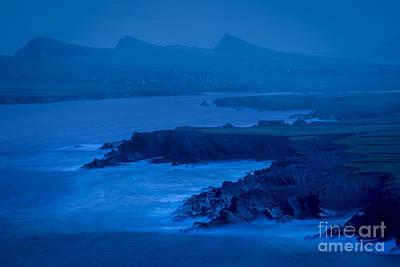 Photograph - Misty Dawn At Clougher Head by Brian Jannsen