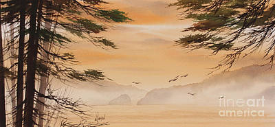 Painting - Misty Dawn by James Williamson