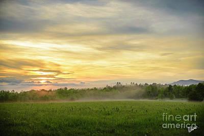 Photograph - Misty Evening by Alana Ranney