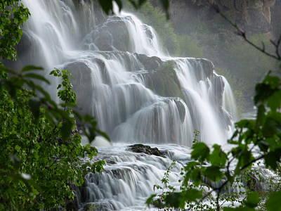Photograph - Misty Falls by DeeLon Merritt