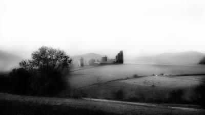 Photograph - Misty Farm by Bill Wakeley