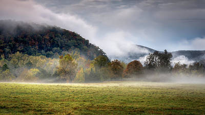 Photograph - Misty Field by James Barber