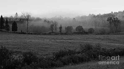 Photograph - Misty Field by Joshua McCullough