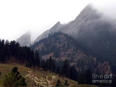 Photograph - Misty Flatirons by George Tuffy