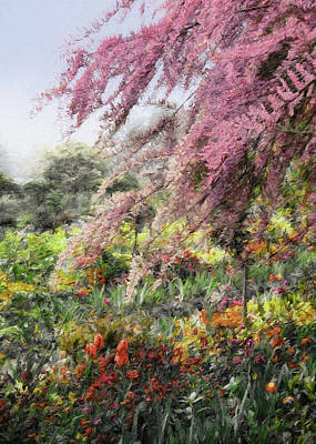 Photograph - Misty Gardens by Jim Hill
