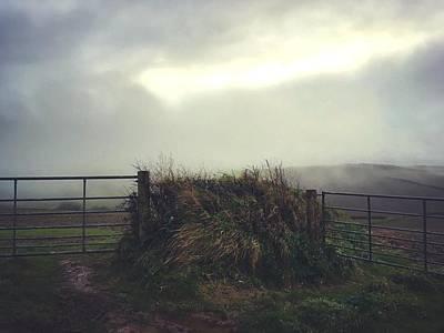 Photograph - Misty Gates by Steve Swindells