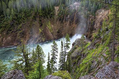 Photograph - Misty Gorge by John M Bailey