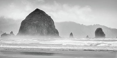 Photograph - Misty Haystack by Chris McKenna