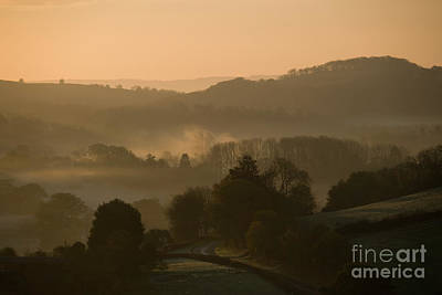 Photograph - Misty Herefordshire Morning by Fairy Fantasies