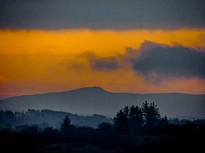 Photograph - Misty Irish Countryside At Dawn by James Truett
