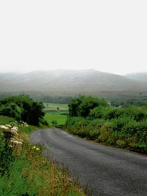 Photograph - Misty Irish Road by Stephanie Moore