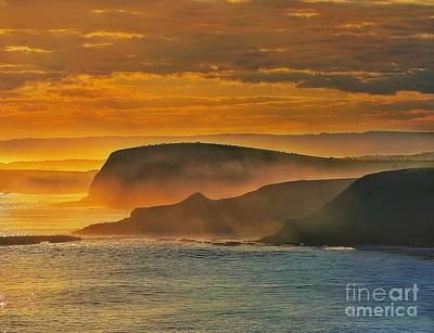 Photograph - Misty Island Sunset by Blair Stuart