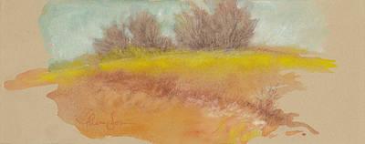 Misty Landscape I Art Print by Tracie Thompson