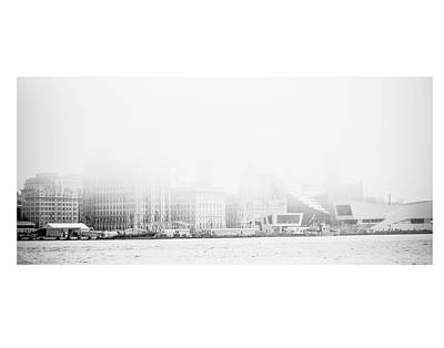 Photograph - Misty Liverpool Waterfront by Spikey Mouse Photography