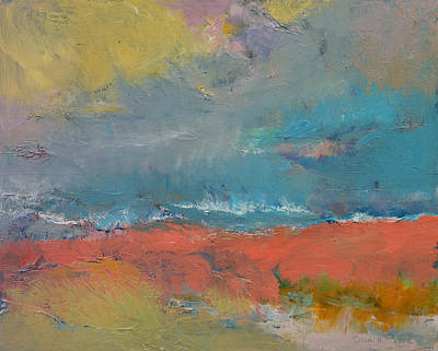 Abstract Impressionism Painting - Misty by Michael Creese