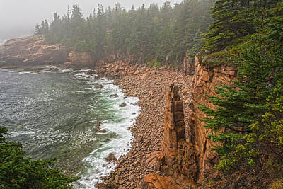 Photograph - Misty Monument Cove by Angelo Marcialis