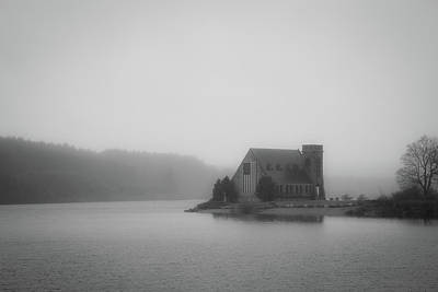 Photograph - Misty Mood Church by Brian Hale