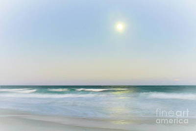 Photograph - Misty Moonrise by Kelly Nowak