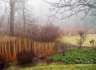 Art Print featuring the photograph Misty Morn by Betsy Zimmerli