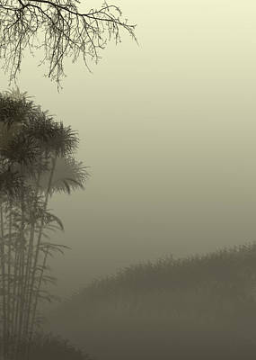 Misty Morn Art Print