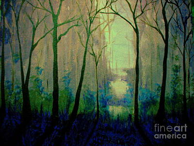Painting - Misty Morning 2 by Reed Novotny