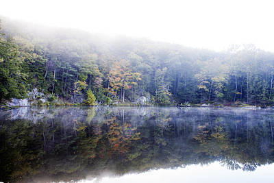 Misty Morning At John Burroughs #2 Art Print