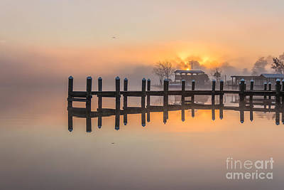 Photograph - Misty Morning by Brian Wright