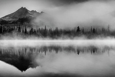 Photograph - Misty Morning by Cat Connor