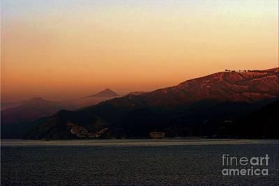 Photograph - Misty Morning Catalina Island, California Usa by Polly Peacock
