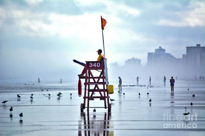 Photograph - Misty Morning Crowd by Third Eye Perspectives Photographic Fine Art