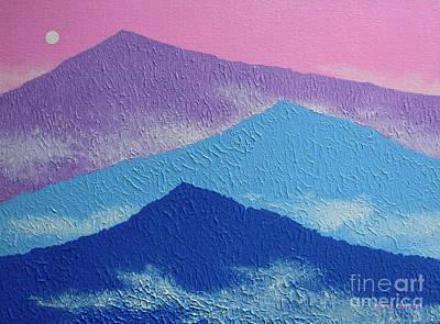 Smokey Mountains Painting - Misty Morning by Dan O'Neill