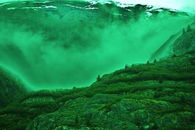 Alaskan Cruise Photograph - Misty Morning by Helen Carson