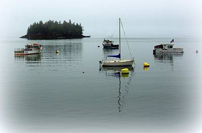 Photograph - Misty Morning In Maine by Suzanne DeGeorge