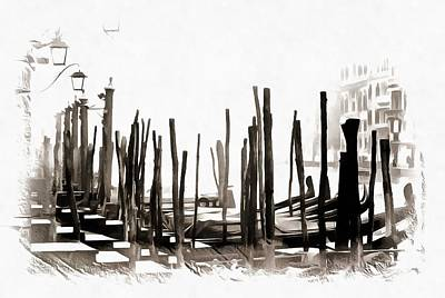 Photograph - Misty Morning In Venice by Dorothy Berry-Lound