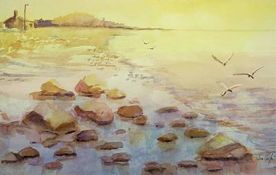 Bayside Painting - Misty Morning by Jean Costa