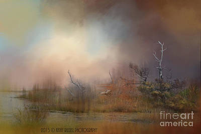 Misty Morning Art Print by Kathy Russell