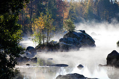 Photograph - Misty Morning by Kati Molin