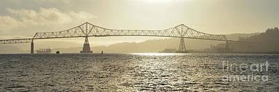 Photograph - Misty Morning Megler Bridge by Denise Bruchman