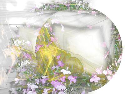 Digital Art - Misty Morning by Nancy Pauling