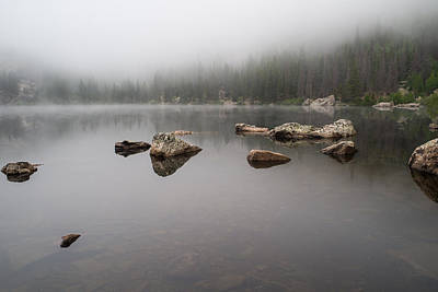 Photograph - Misty Morning On A Lake by Vic Bouchard