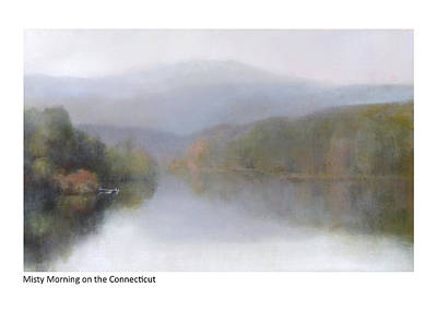 Painting - Misty Morning On The Connecticut by Betsy Derrick
